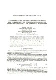 An alternative method for determining the coefficient of thermal expansion of composite material of spherical particles