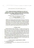 Two approximation methods of spatial derivatives on unstructured triangular meshes and their application in computing two dimensional flows