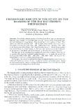 Prelimin ary results of the study on the reason s of the Hai Hau erosion phenomenon