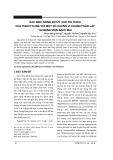 Xác định nồng độ ức chế tối thiểu của tigecycline với một số chủng vi khuẩn phân lập tại bệnh viện Bạch Mai