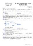 Đề thi giữa HK 2 môn Hóa học lớp 12 năm 2017-2018 - THPT Chuyên Lương Thế Vinh - Mã đề 121