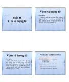 Bài giảng Toán học sơ cấp: Phần 2 - TS. Nguyễn Viết Đông