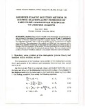Modified elastic solution method in solving elastoplastic problems of structure components subjected to complex loading