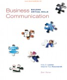 Ebook Business communication (6/E): Part 1