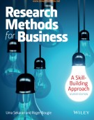Ebook Research methods for business (7/E): Part 2