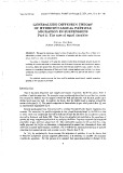 Generalized diffusion theory of hydrodynamical particle migration in suspensions part 1: the case of equal densities