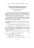 Interaction between linear and cubic parametric excitations