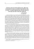 """Về mạng lưới giao thương miền ngược - miền xuôi ở Trung Bộ: suy nghĩ lại """"mô hình trao đổi hàng hóa ven sông"""" của bennet bronson qua dẫn liệu khảo sát nhân học dân tộc ở tỉnh Thừa Thiên Huế"""