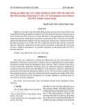 Đánh giá hiệu quả của một số hoạt chất trừ sâu đối với bọ trĩ (scirtothrips dorsali hood) và sâu ăn tạp (spodoptera litura fabricius) hại sen (nulumbo nucifera gaertn)