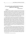 Tây Nguyên trong mối liên hệ với Champa thời kỳ cổ - trung đại