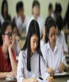 Nhu cầu được trợ giúp tâm lý của học sinh trong một số trường THPT huyện Đan Phượng - Hà Nội