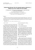 Thành phần hóa học và hoạt tính ức chế enzym α-glucosidase của lá vối Việt Nam (Cleistocalyx operculatus Roxb. Merr. et Perry)