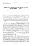 Nghiên cứu cấu trúc, độ bền và khả năng hấp phụ khí CO của cluster Au3X(-1/0/1) (X = Sc, Y)
