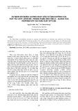 Sự biến đổi năng lượng hoạt hóa và ảnh hưởng của xúc tác axit Lewis BF3 trong phản ứng Diels – Alder của isopren với các dẫn xuất etylen