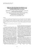 Nghiên cứu điều chế hydrogel nhạy nhiệt trên cơ sở copolyme ghép chitosan-pluronic F127 định hướng ứng dụng trong chữa lành vết thương