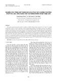 Nghiên cứu tổng hợp dung dịch ZnO pha tạp Al bằng phương pháp sol-gel ứng dụng chế tạo màng mỏng nhiệt điện AZO