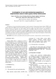 Investigation of cure and mechanical properties of deproteinized natural rubber-g-poly methyl methacrylatec