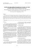 Nghiên cứu ảnh hưởng của nhiệt độ, tỷ lệ mol Ce/Fe đến sự hình thành pha oxit hỗn hợp CeO2-Fe2O3