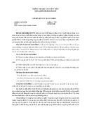 Chủ đề: Kế toán trách nhiệm