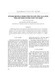 Sử dụng Rietveld trong phân tích cấu trúc Fe3O4 được tổng hợp bằng phương pháp thủy nhiệt