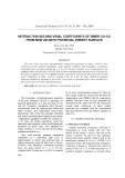 Interaction second virial coefficients of dimer co-co from new ab initio potential energy surface