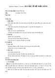 Bài tập về hệ thấu kính