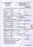 Đề thi học kì 2 môn Hóa học 12 năm 2017-2018 có đáp án - Sở GD&ĐT Tỉnh Đồng Tháp - Mã đề 357