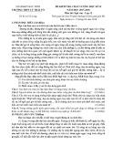 Đề thi học kì 2 môn Ngữ văn 12 năm 2017-2018 có đáp án - Trường THPT Lý Thái Tổ