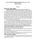 Đề cương ôn tập HK2 môn Ngữ văn 12 năm 2017-2018 - Trường THPT Lương Ngọc Quyến