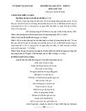 Đề thi học kì 2 môn Ngữ Văn 10 năm 2017-2018 có đáp án - Sở GD&ĐT Quảng Nam