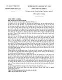 Đề thi học kì 2 môn Ngữ văn 12 năm 2017-2018 có đáp án - Trường THPT Yên Lạc 2