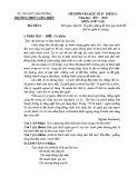 Đề thi học kì 2 môn Ngữ Văn 11 năm 2017-2018 - Trường THPT Cộng Hiền - Mã đề 01