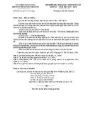 Đề thi học kì 2 môn Ngữ Văn 11 năm 2017-2018 có đáp án - Trường THPT Đoàn Thượng