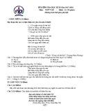 Đề thi học kì 2 môn Ngữ Văn 11 năm 2017-2018 có đáp án - Trường THPT Nguyễn Du