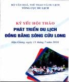 Ebook Kỷ yếu hội thảo phát triển du lịch đồng bằng sông Cửu Long: Phần 1