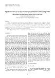 Nghiên cứu chế tạo vật liệu xúc tác dạng hydrotalcit 3 kim loại Mg-Al-Co