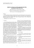 Nghiên cứu tổng hợp vật liệu polysunfat sắt (PFS), ứng dụng cho quá trình keo tụ