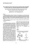 Ảnh hưởng của lực ion và một số ion lạ đến động học phản ứng quang oxi hóa khử giữa phức rutheni(II) polypyridin và axít amin tyrosin