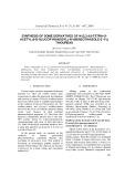 Synthesis of some derivatives of n-(2,3,4,6-tetra-o-acetyl-õ-d-glucopyranosyl)-n'-(benzothiazole-2'-yl) thioureas