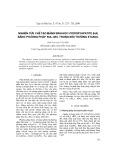 Nghiên cứu chế tạo màng sinh học hydroxyapatit (HA) bằng phương pháp sol-gel trong môi trường etanol