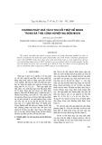 Phương pháp hòa tách thu hồi triệt để niken trong bã thải công nghiệp mạ điện niken