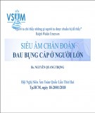 Siêu âm chẩn đoán đau bụng cấp ở người lớn - BS. Nguyễn Quang Trọng