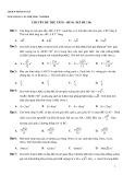 Ebook 350 câu trắc nghiệm Hình học 12