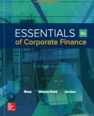 essentials of corporate finance (9/e): part 1
