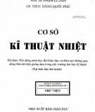 cơ sở kỹ thuật nhiệt (tái bản lần thứ 10): phần 1