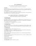 Quy chuẩn kỹ thuật Quốc gia QCVN 34:2017/BGTVT