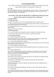 Quy chuẩn kỹ thuật Quốc gia QCVN 28:2016/BLĐTBXH