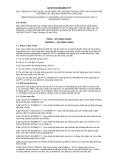 Quy chuẩn kỹ thuật Quốc gia QCVN 95:2016/BGTVT