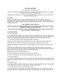 Quy chuẩn kỹ thuật Quốc gia QCVN 01:2017/BCT