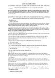 Quy chuẩn kỹ thuật Quốc gia QCVN 30:2016/BLĐTBXH